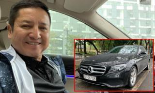 Nghệ sĩ Chí Trung tậu xế hộp Mercedes mới