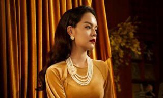 Phạm Quỳnh Anh kiêu sa, duyên dáng khi diện áo dài