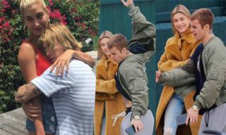 Loạt khoảnh khắc khiến dân tình ví như '2 mẹ con' của Hailey Baldwin và Justin Bieber