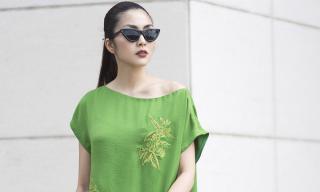 Ở ẩn đã lâu, Hà Tăng vẫn đẹp bất chấp thời gian, gây ngẩn ngơ khi sải bước nhẹ nhàng xuống phố