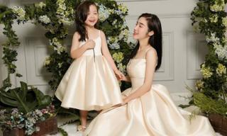 Cadie diễn xuất cực tự nhiên bên mẹ Elly Trần trong loạt ảnh thời trang