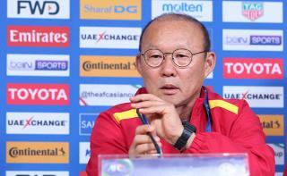 HLV Park Hang-seo: 'Dù còn 1 cơ hội, chúng tôi vẫn nỗ lực hết mình'
