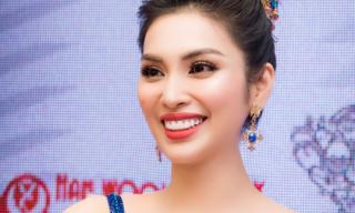 Nữ Hoàng Tài Năng Huyền Sâm đẹp quyền lực trong vai trò BGK tại cuộc thi Quốc Tế