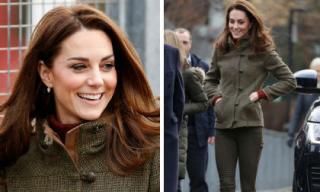 Không mời vợ chồng em dâu Meghan tới sinh nhật, Công nương Kate Middleton bình thản tham gia hoạt động đầu năm mới