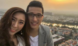 Em gái Trấn Thành và ông xã Hong Kong kỷ niệm 1 năm ngày cưới, tận hưởng cuộc sống vợ chồng son viên mãn