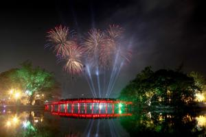 Địa điểm bắn pháo hoa Tết Nguyên đán Kỷ Hợi 2019 tại Hà Nội