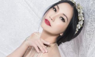 Lâu lâu mới 'tái xuất', Kim Hiền gây ấn tượng mạnh với diện mạo đẹp đến nao lòng
