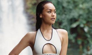 Dù không có thân hình 'thắt đáy lưng ong', Mai Ngô vẫn tự tin diện bikini hai mảnh