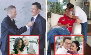 Sau kết hôn, các con rể Tây được bố mẹ của mỹ nhân Việt đối đãi thế nào?