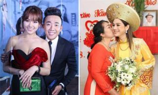 Sao Việt 16/1/2019: Trấn Thành: 'Hari Won ghen với cả bạn gái của bạn gái tôi'; mẹ chồng Lâm Khánh Chi dặn con trai: 'Làm sai với mẹ thì mẹ tha thứ, nhưng sai với vợ thì mẹ không bỏ qua'