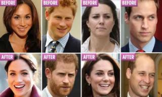"""""""Thử thách 10 năm"""" cùng các thành viên của gia đình Hoàng gia: Ai là người thay đổi nhiều nhất?"""