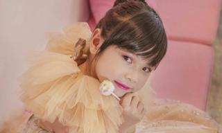 Vẻ đẹp thiên thần của Hải Yến - mẫu nhí nổi bật năm 2018 của làng mốt Việt
