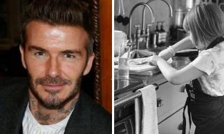 Chỉ vì 1 chiếc bánh kẹp mà David Beckham ví con gái Harper với nhân vật đặc biệt này
