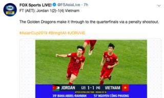 Báo nước ngoài gọi ĐT Việt Nam là 'Rồng vàng châu Á', dân mạng Trung Quốc tấm tắc khen xuất sắc hơn cả đội nhà