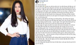 Dương Mỹ Linh 'thề xử đẹp' khi bị đồn yêu ông chủ tiệm nail đã có vợ