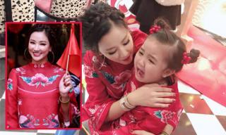Tổ chức sinh nhật cho con gái, Maya hào hứng hò hét vì chi tiết trùng hợp bất ngờ