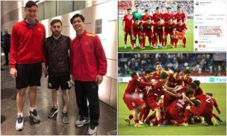 Dàn tuyển thủ Việt Nam chia sẻ gì sau chiến thắng kịch tích trước Jordan?
