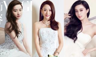 Chưa lấy chồng đã mặc váy cưới, fan 'chắp tay khấn vái' cho loạt mỹ nhân này xuất giá trong năm mới