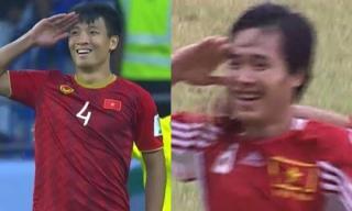 Danh thủ Hồng Sơn - chàng lính trẻ Bùi Tiến Dũng, 20 năm và màn ăn mừng đã trở thành biểu tượng