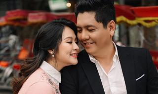 Thanh Thuý: 'Khi chưa biết mình mang thai, tôi giận anh Thịnh vì cứ nói tôi mập lên và nghi tôi đi làm ngực'