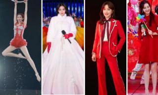 Angelababy, Tần Lam, Địch Lệ Nhiệt Ba, Lâm Chí Linh nổi bật trong Gala chào xuân của đài CCTV