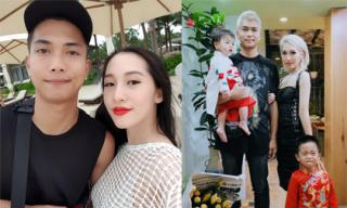 Đúng ngày mùng 1, Big Daddy và Emily công khai ảnh gia đình hạnh phúc cùng hai con