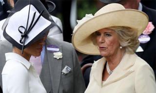 Lần đầu hé lộ cuộc gặp gỡ bí mật giữa Meghan và mẹ chồng Camilla trong cung điện Hoàng gia