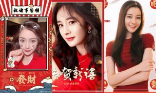 Sao Hoa ngữ đăng ảnh chúc Tết: Angelababy, Dương Mịch 'nhuộm đỏ' Weibo