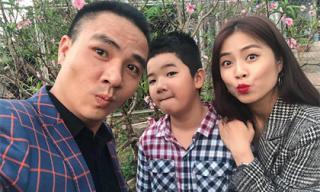 MC Hoàng Linh khoe ảnh thân thiết với con riêng của ông xã Mạnh Hùng
