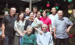 Về ăn Tết ở nhà Linh Chi, Lâm Vinh Hải được cưng chiều hết mực