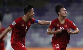 Siêu phẩm đá phạt của Quang Hải 'ẵm' giải bàn thắng đẹp nhất Asian Cup 2019