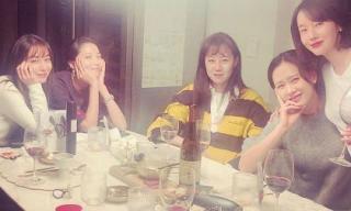"""""""Chị đẹp"""" Son Ye Jin họp mặt đầu năm với hội chị em cực phẩm sau tin đồn hẹn hò Hyun Bin ở Mỹ"""