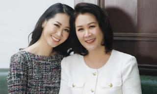 Nhìn mẹ Hoa hậu Dương Thùy Linh dân mạng phải trầm trồ: Đẹp là do di truyền!