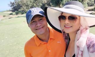 Vũ Thu Phương cùng chồng đại gia du lịch Đà Nẵng nhân dịp đầu xuân năm mới