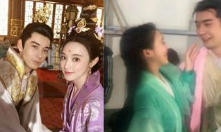 Chưa phát sóng, cặp đôi Đông Cung lộ ảnh hậu trường 'khóa môi' khiến khán giả khóc ròng