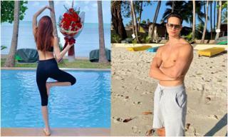 Kim Lý đăng ảnh người tình 'giấu mặt' trong ngày Valentine, Hà Hồ bình luận bất ngờ
