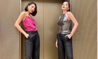 Hoa hậu Kỳ Duyên lại tiếp tục 'thả thính' siêu mẫu Minh Triệu sau tuyên bố 'nhìn muốn đẻ'