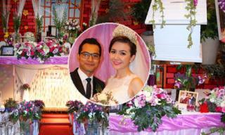 'Đột nhập' tiệc cưới lãng mạn của Huỳnh Đông - Ái Châu