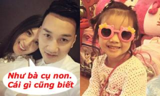 Bạn gái Thành Trung yêu chiều con gái riêng của người yêu