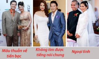 1001 lý do khiến chuyện tình của sao Việt đổ vỡ