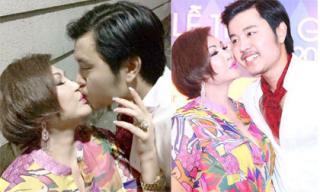 Vũ Hoàng Việt hôn 'nồng cháy' người tình tỷ phú