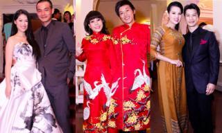 Sao Việt 'kết đôi' lộng lẫy trên thảm đỏ Mai Vàng