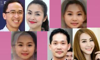 'Xem trước' dung nhan của con sao Việt