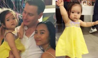 Con gái Đoan Trang siêu đáng yêu trong tiệc sinh nhật 1 tuổi