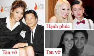 Nhìn lại hôn nhân của sao nam Việt với vợ ngoại quốc