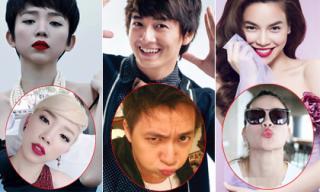 Sao Việt 'mất mặt' vì những bức ảnh selfie 'xấu giật mình'