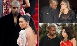 Chồng Kim Kardashian không thể rời mắt khỏi vợ