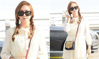 Jessica đẹp hút hồn với phong cách nữ sinh