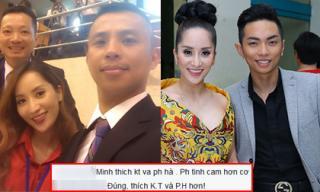 Khánh Thi được khen hợp với Phan Hiển hơn Chí Anh
