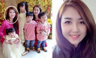 Chị gái Hoa hậu Đặng Thu Thảo xinh như hotgirl dù đã 4 con